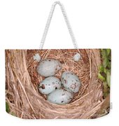 Red-winged Blackbird Nest Weekender Tote Bag