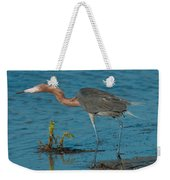 Reddish Egret Hunting Weekender Tote Bag