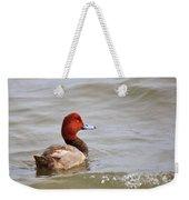 Redhead Duck Weekender Tote Bag