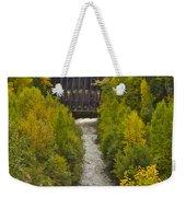 Redridge Steel Dam 7844 Weekender Tote Bag by Michael Peychich