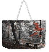 Reds In The Woods Weekender Tote Bag