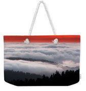 Redwood Clouds Weekender Tote Bag