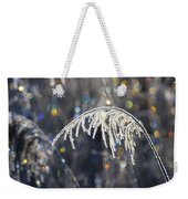 Reed With Frost And And Color Weekender Tote Bag