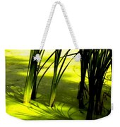 Reeds In Pond Weekender Tote Bag