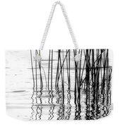 Reeds On The Turtle Flambeau Flowage Weekender Tote Bag