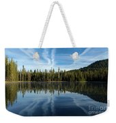 Reflecting Blue Weekender Tote Bag
