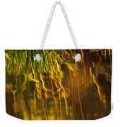 Reflecting On A Summer Morn Weekender Tote Bag