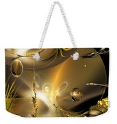 Reflecting On Tales Of Reflections Of Tales Weekender Tote Bag
