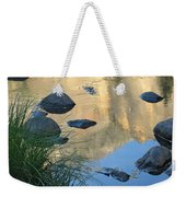 Reflecting Peaks In The Merced River Weekender Tote Bag