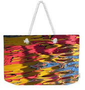 Reflection Abstraction Weekender Tote Bag