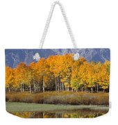 Reflection At Oxbow Bend Weekender Tote Bag