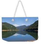 Reflection At The Reservoir Weekender Tote Bag