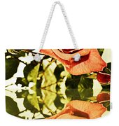Reflection Of A Warm Rose Weekender Tote Bag