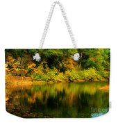 Reflection Of Autumn Colors Weekender Tote Bag