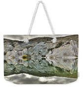 Reflection On Blue Lake, St Bathans Weekender Tote Bag