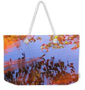 Reflections And Currents Weekender Tote Bag