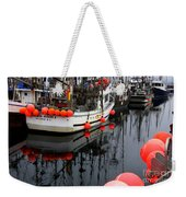 Reflections At French Creek Weekender Tote Bag by Bob Christopher