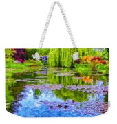 Reflections At Giverny Weekender Tote Bag