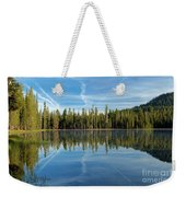 Reflections At The Summit Weekender Tote Bag