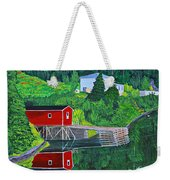 Reflections H D R Weekender Tote Bag by Barbara Griffin