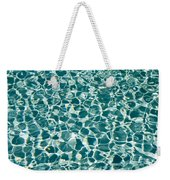 Reflections In A Swimming Pool Weekender Tote Bag