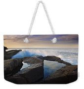 Reflections In Monument Cove Weekender Tote Bag