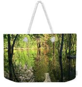 Reflections In The Merced Weekender Tote Bag