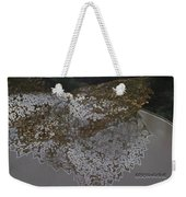 Reflections Of A Lacy Leaf Weekender Tote Bag