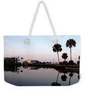 Reflections Of Keaton Beach Marina Weekender Tote Bag