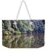 Reflections On Aldridge Lake Weekender Tote Bag