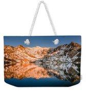 Reflections On Angel Lake Weekender Tote Bag