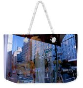 Reflections On Madison Avenue Weekender Tote Bag