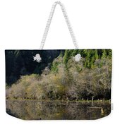 Reflections On Marshall Pond Weekender Tote Bag