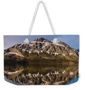 Reflections On Red Eagle Mountain Weekender Tote Bag