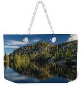 Reflections On Salmon Lake Weekender Tote Bag
