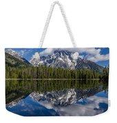 Reflections On String Lake Weekender Tote Bag