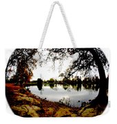Reflections On The Lake Weekender Tote Bag