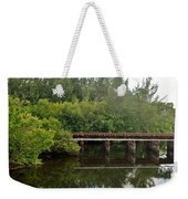 Reflections On The North Fork River Weekender Tote Bag