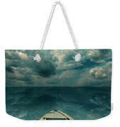 Reflections On The Sea Weekender Tote Bag