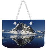 Reflections With Ice Weekender Tote Bag