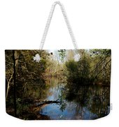 Reflective River Thoughts Weekender Tote Bag