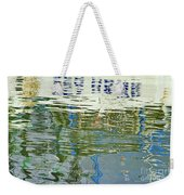 Reflective Water Abstract Weekender Tote Bag