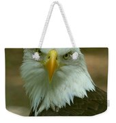 Regal Eagle Portrait Weekender Tote Bag