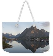 Reine Village In Early Morning Light Weekender Tote Bag
