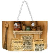 Relics Of The Old West Weekender Tote Bag