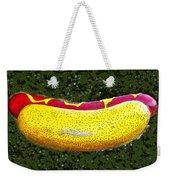 Relishing A Hotdog Weekender Tote Bag