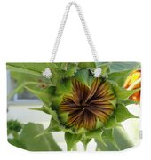 Reluctant To Bloom Weekender Tote Bag