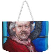 Rembrandt Santa Weekender Tote Bag