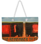 Remember To Flush Poster Weekender Tote Bag