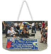 Remembering Miss Lena Weekender Tote Bag